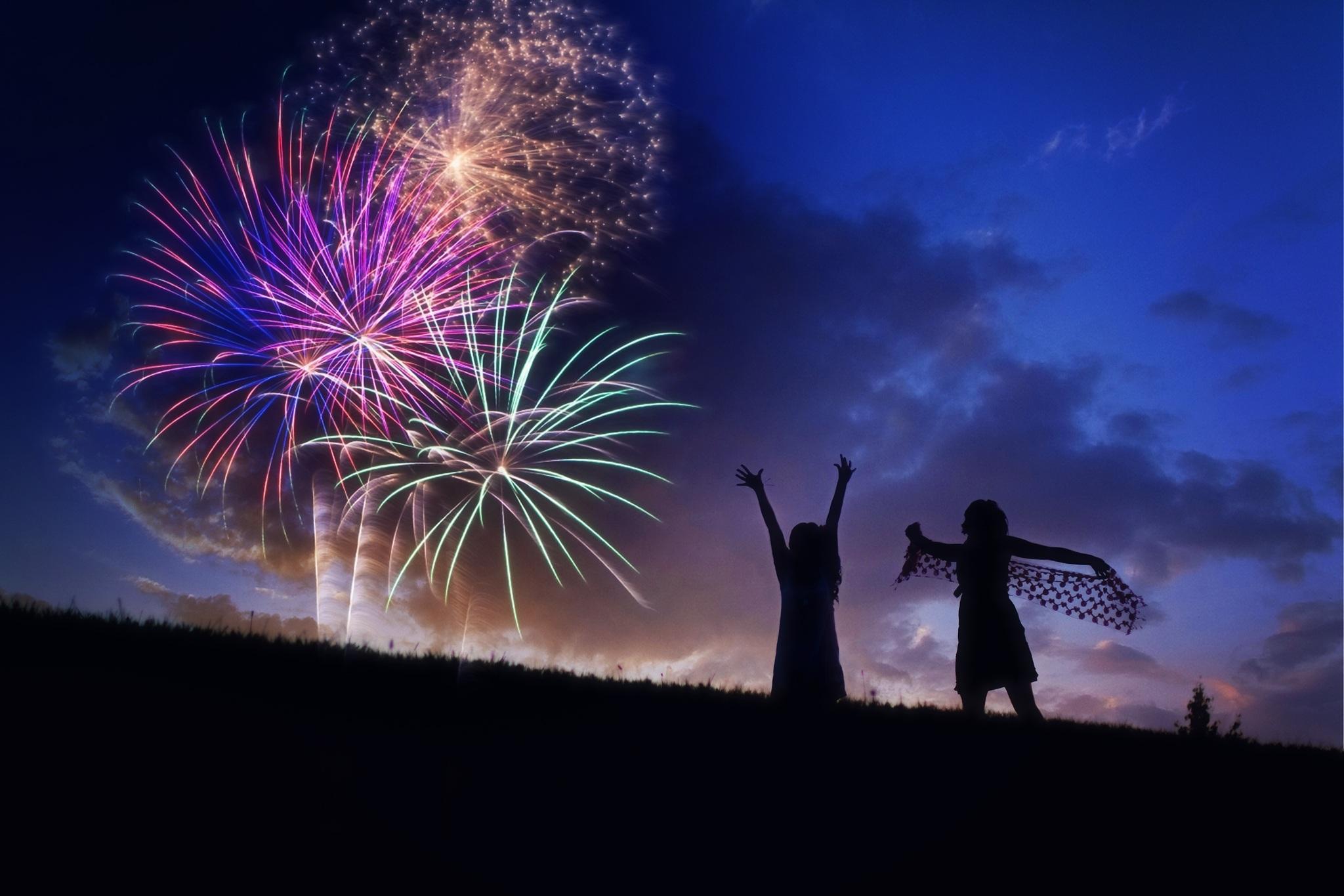Spleodar Halloween Arts Festival Fireworks